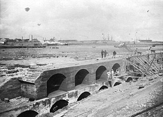 Freeport of Copenhagen - The Freeport under construction