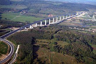 Economy of Hungary - Kőröshegy Viaduct