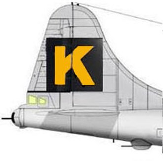 330th Bombardment Group (VH) - Image: K tail