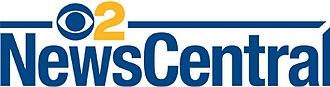 KCBS-TV - CBS2 NewsCentral logo.