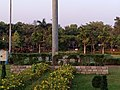 Kadri Park in Mangalore - WELCOME topiary in the circular garden.jpg