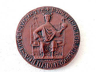 Rudolf I of Germany - Seal (1275)