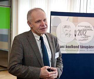 Kalevi Kull Estonian biologist and semiotician
