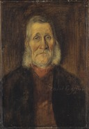 Kalle-i-Sandbäcken, a Småland Personality (Albert Engström) - Nationalmuseum - 20998.tif