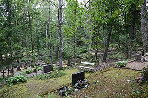 Kambja - Image: Kambja kalmistu (2014)