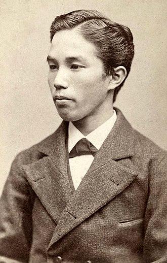 Kaneko Kentarō - Kaneko as a young man
