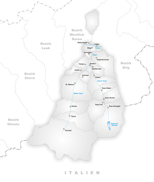 Distretto di Visp