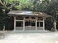 Katsuragi Shrine, Haraedono Shrine and Iyonokuni Main Shrine in Oyamazumi Shrine.jpg