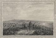 Kaunas' view in 19th century