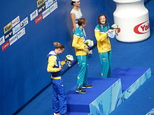 Kazan 2015 - Victory Ceremony 100m freestyle W.JPG