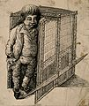 Kelham Whitelcombe, a dwarf. Etching. Wellcome V0007301.jpg