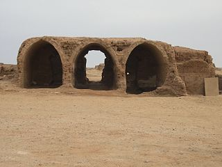 Kellis Archaeological site in the Egyptian depression of el-Dakhla