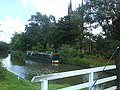 Kennet and Avon canal by St. Lawrence's church - geograph.org.uk - 836411.jpg
