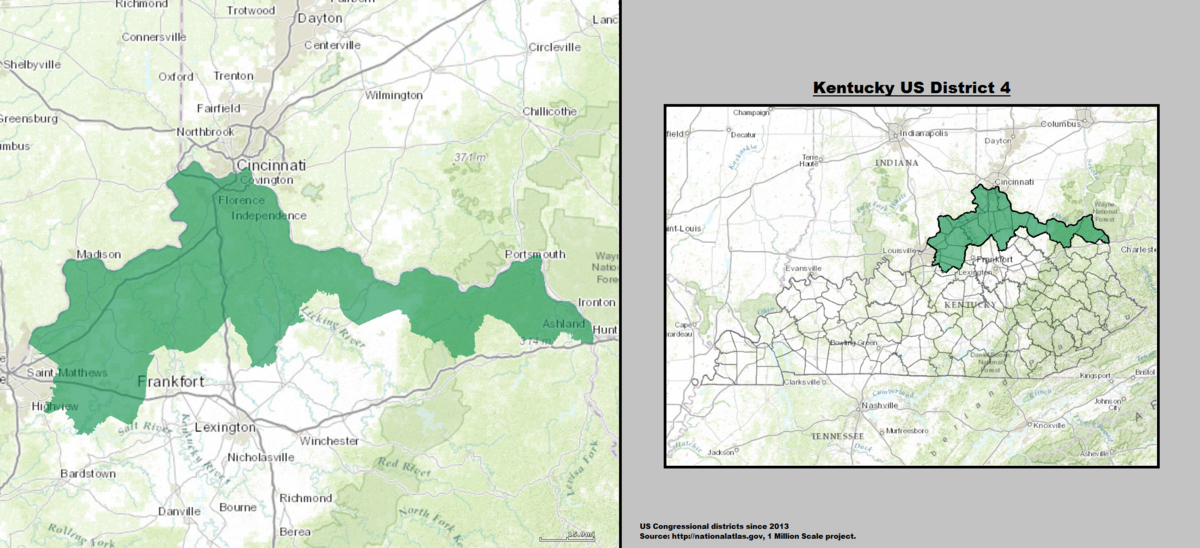 Kentucky S 4th Congressional District Wikipedia