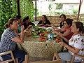 Kepezli bayanlar kahvaltı sohbetinde 20-08-2014 - panoramio.jpg