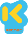 The fifth Ketnet logo, used until August 31, 2015