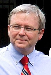 Kevin Rudd MP, Prime Minister of Australia and leader of the Australian Labor Party