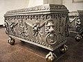 Kiejdany - trumny Radziwiłłów w krypcie kościoła kalwińskiego.jpg