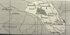 Kingdom of Cusco - Map of the Kingdom of Cusco.