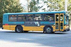 King County Metro fleet - Image: King County Metro Gillig PHANTOM 1122