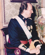 King Juan Carlos of Spain with Ambbassador Khatib (Cropped).png