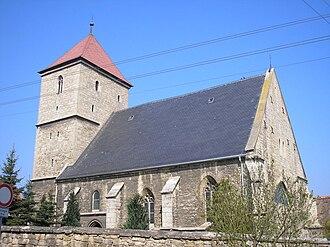 Margaret of Austria, Electress of Saxony - Fourteen Holy Helpers pilgrimage church, Jena