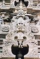 Kirtimukha relief decoration at Amruteshvara temple in Annigeri.JPG