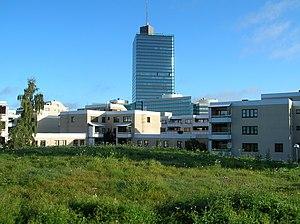 Kista - Image: Kista Science Tower Stockholm från Ärvingegången 2005 09 29