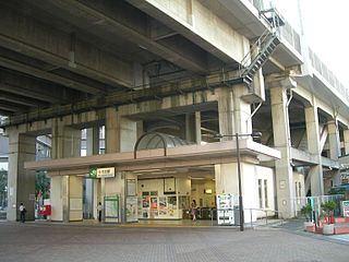 Kita-Akabane Station Railway station in Tokyo, Japan