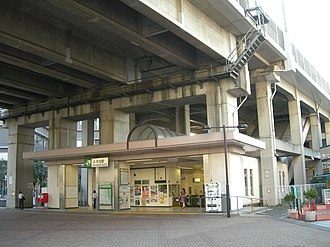 Kita-Akabane Station - Akabane exit of Kita-Akabane Station, August 2009