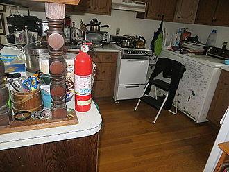 Emergency management - Kitchen fire extinguisher