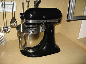 Industrial design - KitchenAid 5 qt. Stand Mixer, designed in 1937 by Egmont Arens, remains very successful today