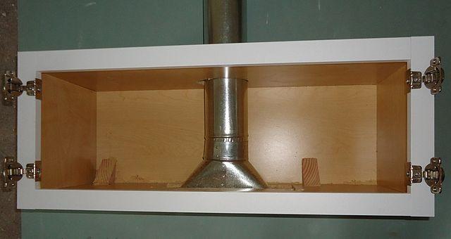 Under Cabinet Microwave In Kitchen
