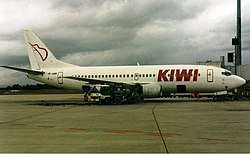 Kiwi Travel International Airlines Boeing 737-300 Wheatley.jpg