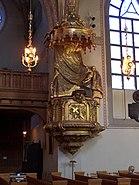 Klara kyrka pulpit