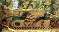 Kleitias, decorazione del vaso françois, 570 ac ca., festeggiamenti per le nozze di peleo e teti, 01.jpg