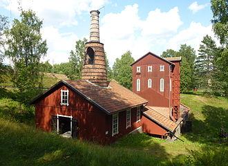 Ecomuseum Bergslagen - Image: Klenshyttan 2013 02