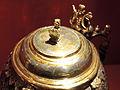 Kokosnusshumpen (Detail) spätes 16. Jh - Silberobjekte aus dem Rathaus im Stadtmuseum Rapperswil 2012-12-01 16-19-13 (P7700).JPG