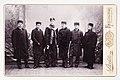 Konrad, Hilding, Einar, Valter och Haralad Meinander samt Hjalmar Relander (slsa1022 5, SLS).jpg