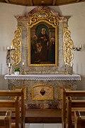 Konradskapelle (Mohrenhausen) - altar inside the chapel.jpg