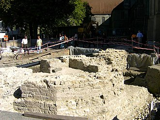 Danube–Iller–Rhine Limes - Remains of a Roman fighting tower in Constance (as at 2004)