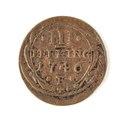 Kopparmynt, 3 pfennig, 1746 - Skoklosters slott - 109691.tif
