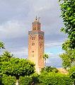 Koutoubia Mosque tower at Marrakech, Morocco - panoramio.jpg