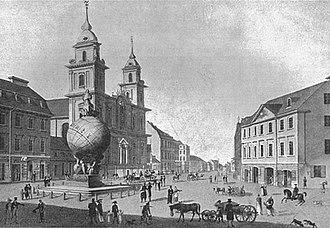 Holy Cross Church, Warsaw - Image: Krakowskie 014