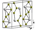 Kristallstruktur von β-Neptunium(III)-bromid