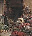 Kristian Zahrtmann - En blomstersælgerske fra Firenze - KMS3669 - Statens Museum for Kunst.jpg
