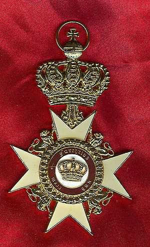 Order of the Crown (Württemberg) - Großkreuz