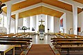 Krumpendorf Pfarrkirche heiliger Georg Inneres 09032013 111.jpg