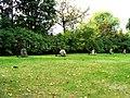 Kruszyn, kościół ewangelicki, ob. rzym.-kat. fil. p.w. św. Kazimierza, - droga krzyżowa przy kościele vv.JPG