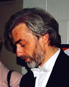 Photograph of Krystian Zimerman